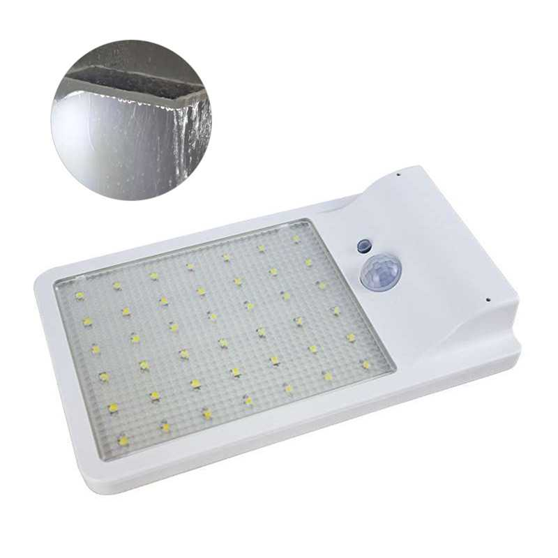Waterproof Motion Sensor Solar Wall Lamps