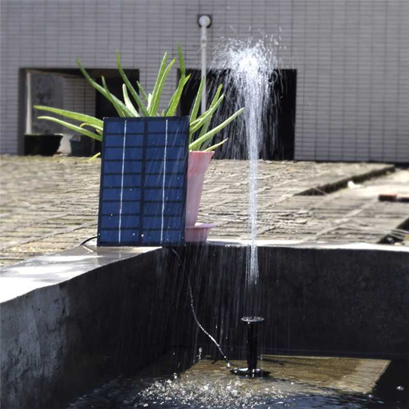 1.8W 7 Nozzles Solar Floating Water Pump Kit