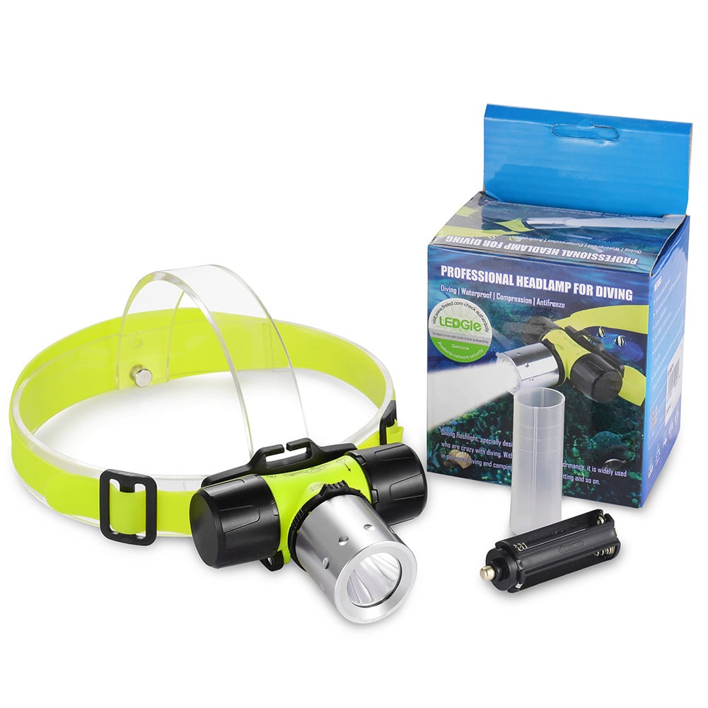 3 Modes Submarine Waterproof LED Diving Headlight