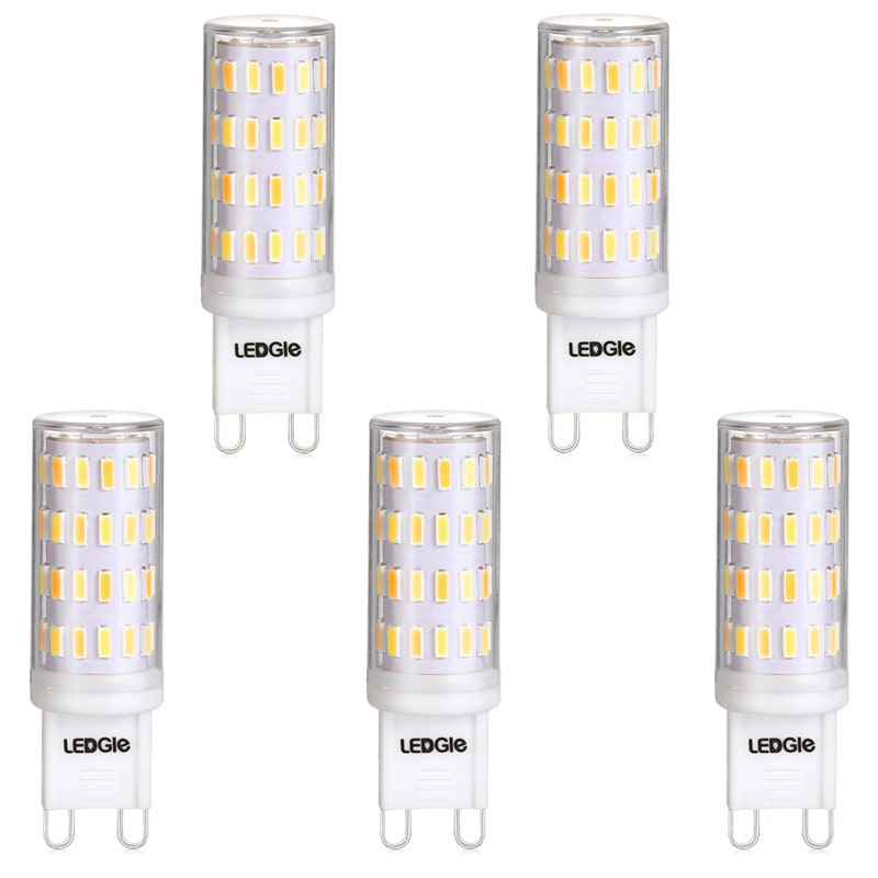 5 Pack 6W G9 3 Modes OEM LED Light Bulbs