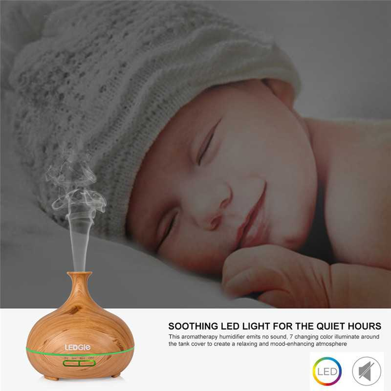 300ml Ultrasonic Aroma Mist Air Diffusers
