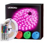 LEDBOKLI 24W Waterproof 8 Modes WiFi Smart LED Strip Lights