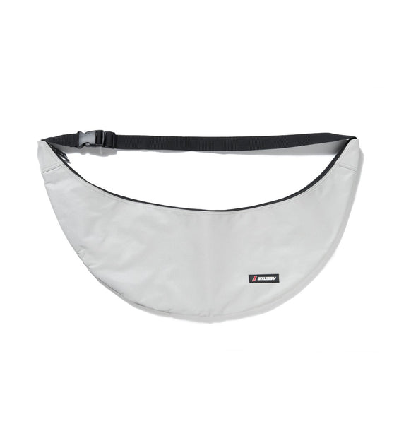 Stussy Unisex Map Sling Bag Silver
