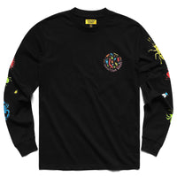 Chinatown Market Bugs Long Sleeve Tee Black