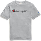 Champion Life® Heritage Script Tee (Oxford Grey)