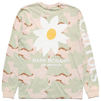 Carrots X Mark McNairy Daisy Long Sleeve Tee (Camo)