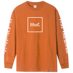 HUF Domestic LS Tee (Rust)