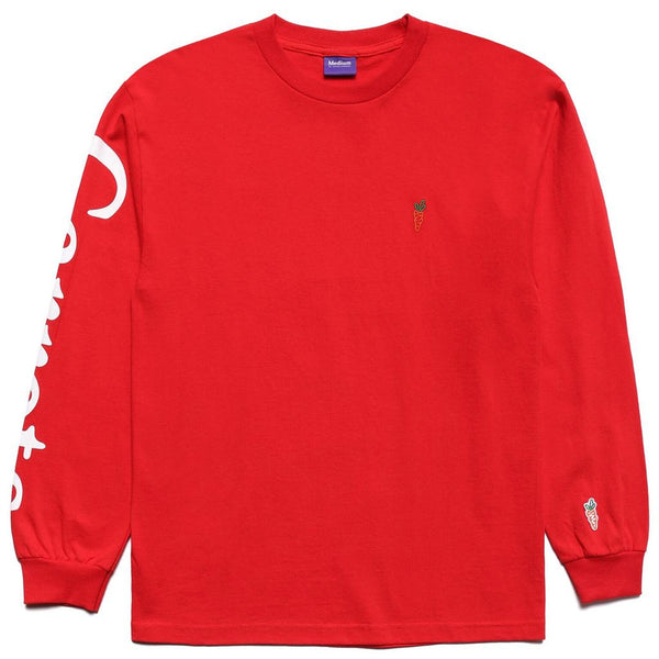 Carrots Logo Long Sleeve (Red)