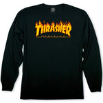 Thrasher Flames Long Sleeve Tee