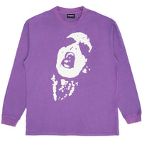 PLEASURES Shout LS Tee (Purple)
