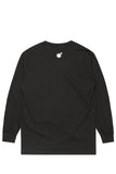 The Hundreds Forever Slant Logo L/S (Black)