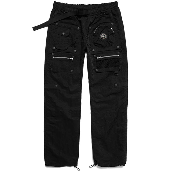 Chinatown Market Modular Nylon Pants (Black)