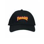 Thrasher Micro Flame Dad Hat (Black)
