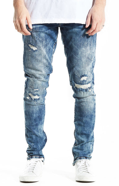 Crysp Pacific Denim (Mid Blue)