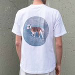 'Space-Dog' Drop Shoulder Tee