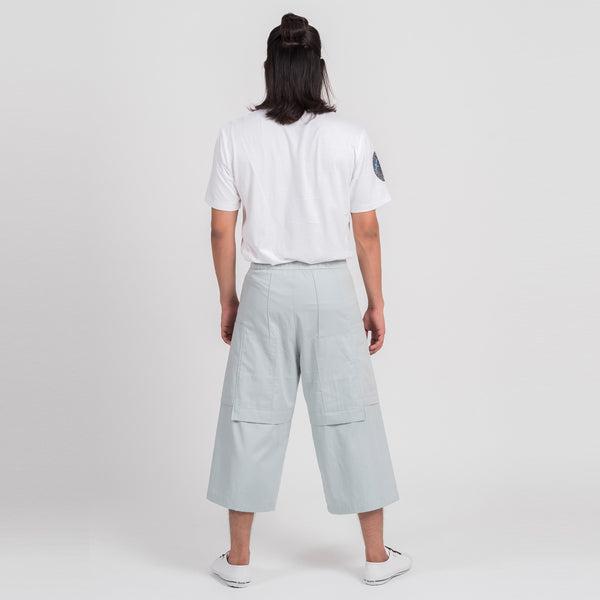 'Orbit-Green' Long Shorts
