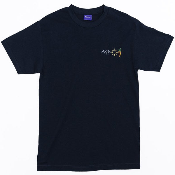 Carrots X Mark McNairy Rain Sun Carrots Tee (Navy)