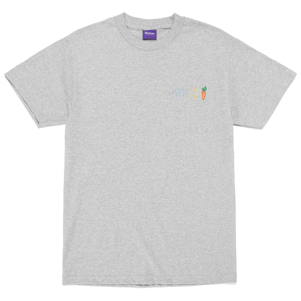 Carrots X Mark McNairy Rain Sun Carrots Tee (Heather Grey)