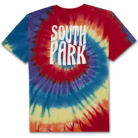 HUF South Park trippy tie dye tee
