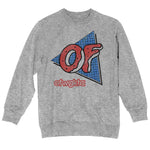 Odd Future Triangle Grid Heather Grey Crewneck