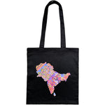 Brown History Homeland Tote (Black)