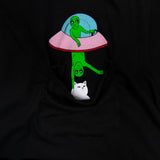 RIPNDIP Abduction Pocket Tee (Black)