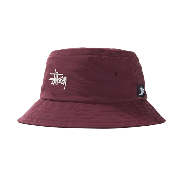 Stussy Reversible Bucket Hat (Berry)