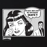 Thrasher Boyfriend Tee (Black)