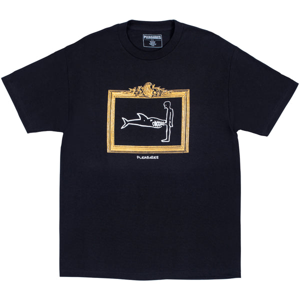 PLEASURES Bite Tee (Black)