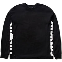 The Hundreds Sideshow L/S T Shirt (Black)