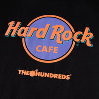 The Hundreds x Hard Rock Cafe Tee (Black)