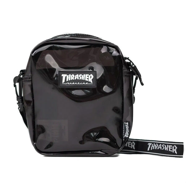Thrasher Hometown Clear Shoulder Bag (Black)
