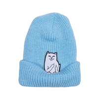 Lord Nermal Ribbed Beanie (Blue)