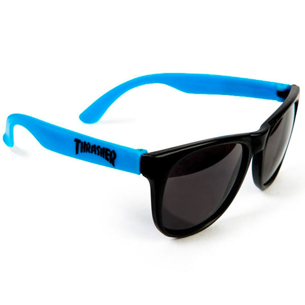 Thrasher Sunglasses (Neon Blue)