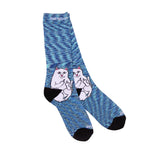RIPNDIP Lord Nermal Socks (Navy Speckle)