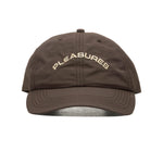 PLEASURES Nylon Cap (Brown)