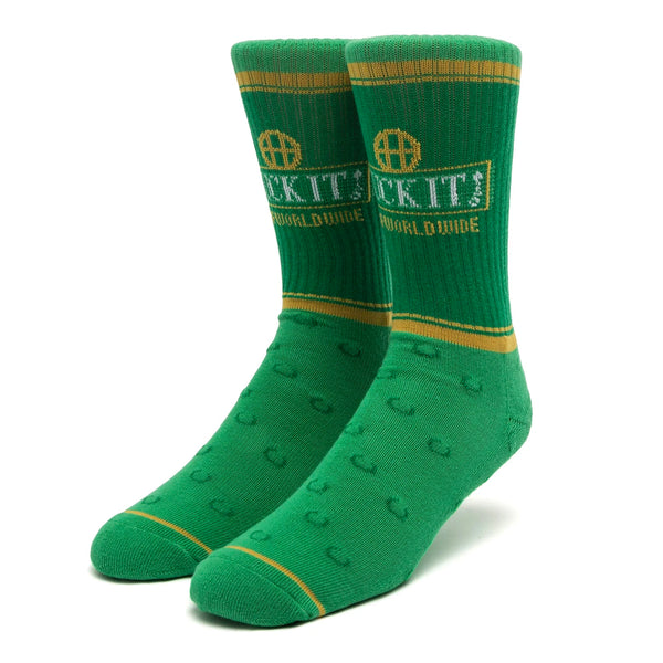 HUF Brown Bag Sock (Green)
