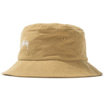 Stussy Stock Canvas Bucket Hat (Yellow)