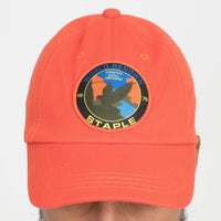 Staple Pigeon Field Tech Logo Dad Hat (Orange)