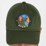 Staple Pigeon Field Tech Logo Dad Hat (Olive)