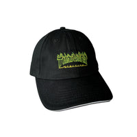 Thrasher (Japan) Green Outline Flame Cap