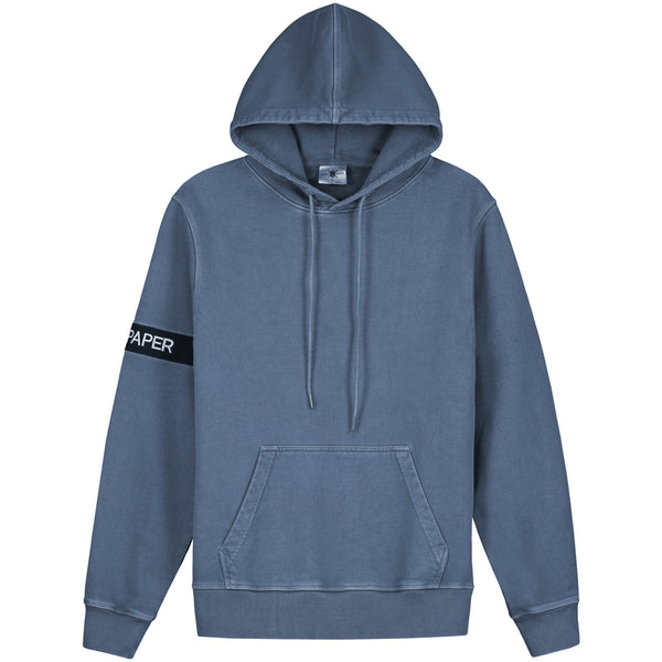 Daily Paper Washed Captain Hoodie (Ocean Blue)