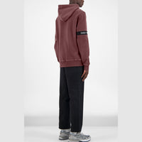 Daily Paper Washed Captain Hoodie (Burgundy)