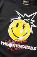 Chinatown Market X The Hundreds Crossout Adam Tee (Black)