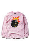 Chinatown Market X The Hundreds Smiley Adam LS Tee (Pink)