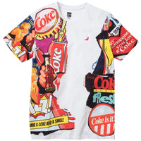 Staple Pigeon X Coca-Cola Collage Tee