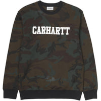 Carhartt WIP College Sweat (Camo Evergreen)