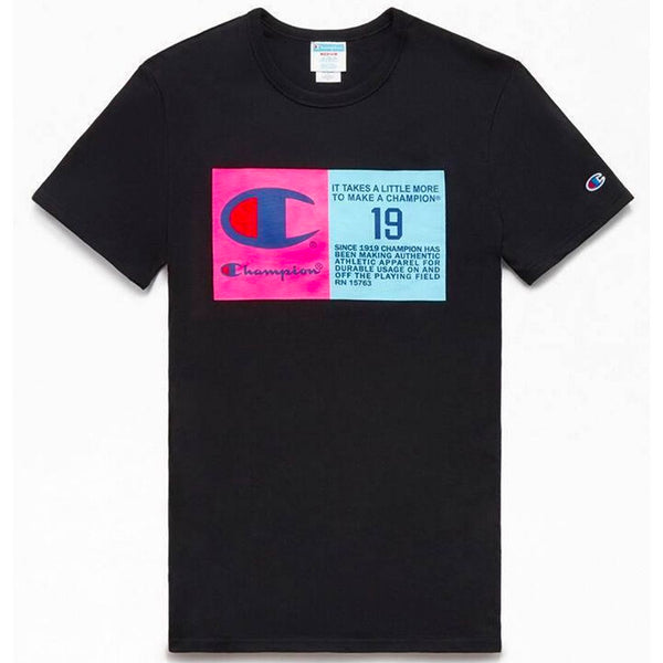 Champion Life® Pop Jock Tag Tee (Black)