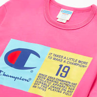 Champion Life® Pop Jock Tag Tee (Reef Pink)
