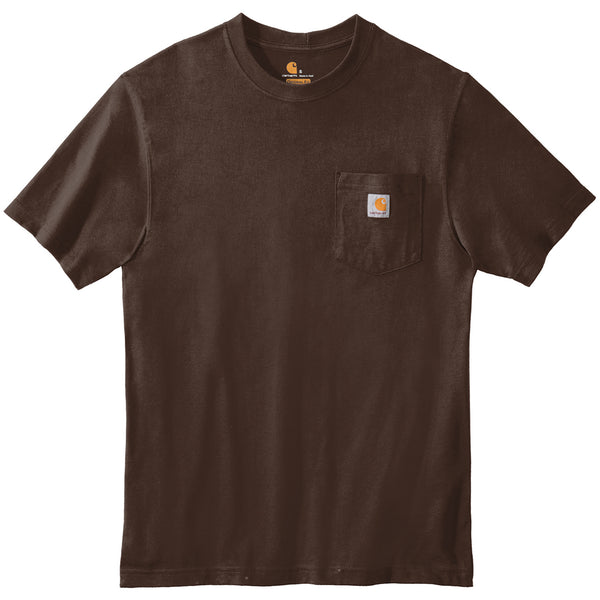 Carhartt Workwear Pocket Tee (Dark Brown)